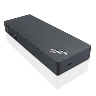 Lenovo docking station: ThinkPad Thunderbolt 3 Dock - Zwart