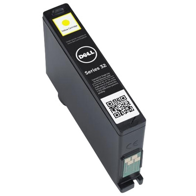 Dell inktcartridge: CTRG INK VX25W SERIES32 YEL  - Geel