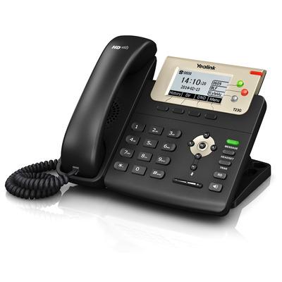 Yealink ip telefoon: SIP-T23G - Zwart