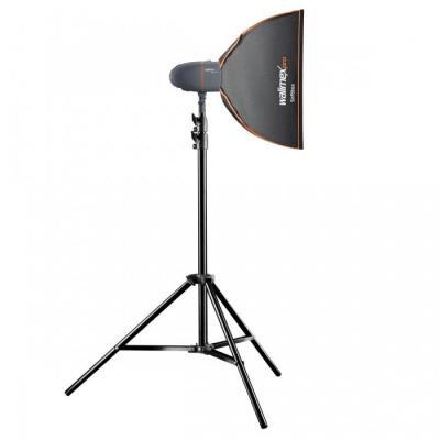 Walimex fotostudie-flits eenheid: pro Newcomer Studioset Starter 200 - Zwart, Grijs