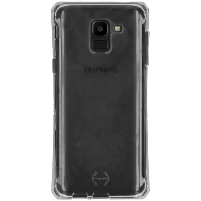 Spectrum Backcover Samsung Galaxy J6 - Transparant - Transparant / Transparent Mobile phone case