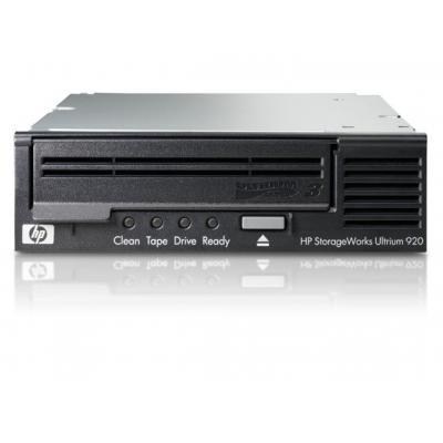 Hewlett packard enterprise tape drive: StorageWorks Ultrium 920 SCSI LTO-3 800GB (2:1) - Zwart