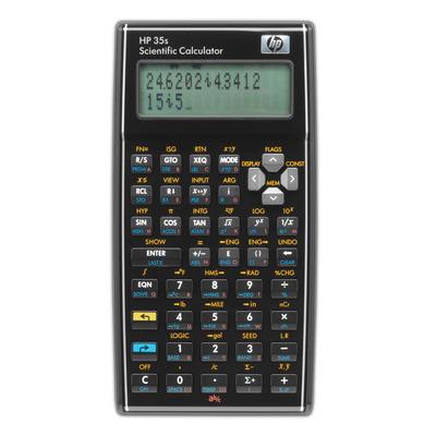 HP 35s wetenschappelijke rekenmachine Calculator - Zwart