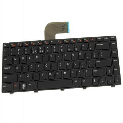 Dell notebook reserve-onderdeel: Keyboard (US-ENGLISH) - Zwart