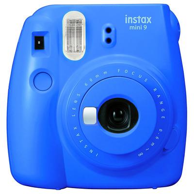 Fujifilm direct klaar camera: Instax Mini 9 - Blauw