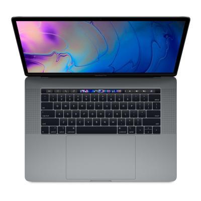 Apple laptop: MacBook Pro 15 (2018) - i7 - 256GB - Space Grey - Grijs