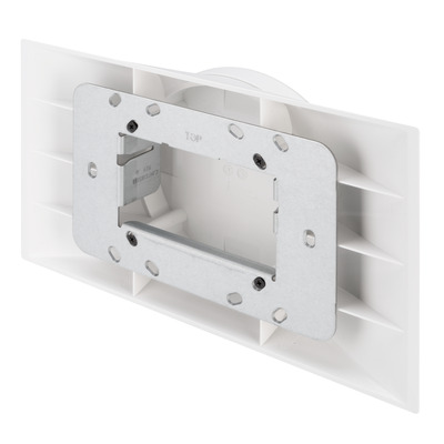 Crestron Electronics Multisurface Mount Kit for TSW-1070 Series, White Smooth Houder - Wit
