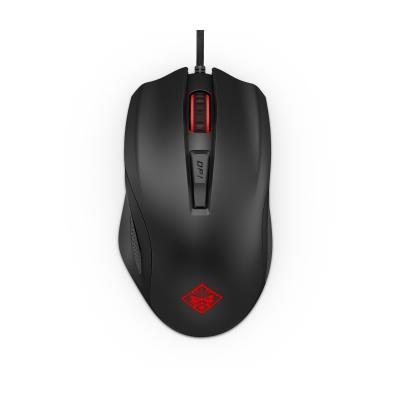 Hp computermuis: OMEN by Mouse 600 - Zwart