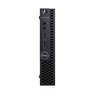 DELL OptiPlex 3070 Micro i3 8GB RAM 128GB SSD Pc - Zwart