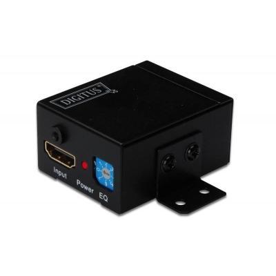 Digitus AV extender: DS-55901 - Zwart