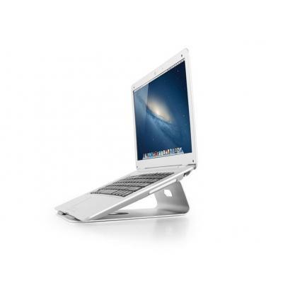Newstar notebooksteun: De NSLS100 is een universele bureausteun voor een notebook of tablet - Zilver