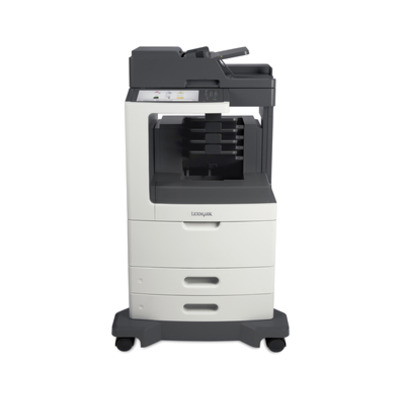 Lexmark MX812dme Multifunctional - Zwart,Grijs