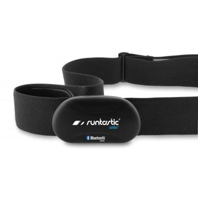 Runtastic hartslagmeter: Bluetooth 4.0, Smart Combo Heart Rate Monitor f/ iPhone 5/5s/5c/4s & Galaxy S4, 89g, Black - .....