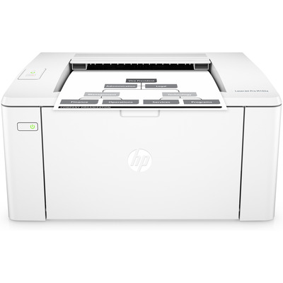 HP LaserJet Pro M102a Laserprinter - Zwart