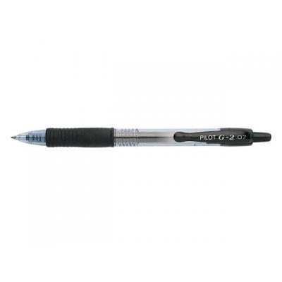 Pilot pen: Gelpen g2 0,4mm zwart