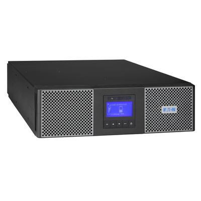 Eaton 9PX Dubbele conversie (online) 5000 VA 4500 W 5 AC-uitgang(en) incl. netwerkkaart UPS - Zwart