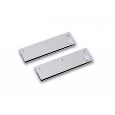 Ek water blocks cooling accessoire: EK-RAM Monarch Module - Nickel (2pcs) - Zilver