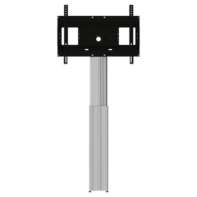 Conen Mounts Motorized display wall mount, 50 cm of vertical travel, column silver anodized, anti .....