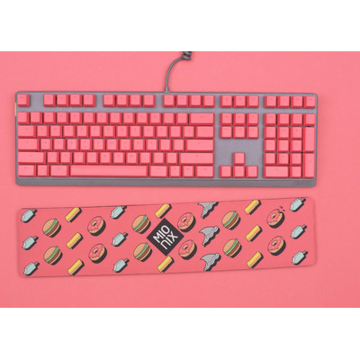Mionix Keycaps Frosting for Wei Keyboard - QWERTZ Toetsenbord accessoire - Roze