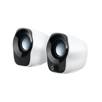 Logitech Compacte stereospeakers Z120 USB-speakers Speaker - Zwart,Zilver,Wit
