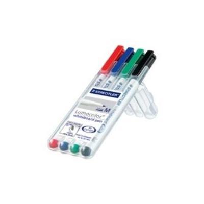 Staedtler Lumocolor whiteboard pen 301, 1 mm Markeerstift - Multi kleuren