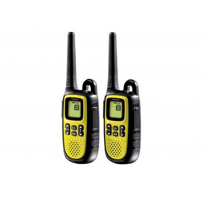 Topcom walkie-talkie: RC-6403 Walkie Talkie - Twintalker 5400 - Zwart, Geel