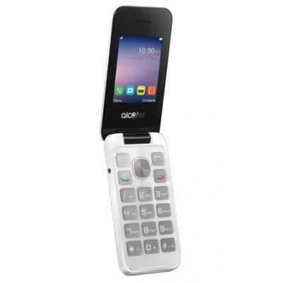 Alcatel mobiele telefoon: 20.51D - Wit