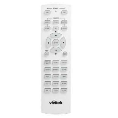 Vivitek IR Remote Control HC 30 Keys for H1080 Afstandsbediening - Grijs