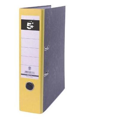 5star ordner: Ordner geel, rug van 8 cm kenmerken