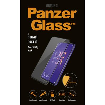 PanzerGlass Huawei nova 5T Edge-to-Edge Screen protector - Transparant