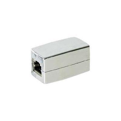 M-cab netwerk splitter: Modular Coupling 8P8C - Zilver