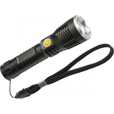 Brennenstuhl zaklantaarn: IP44, 450 lm, 100 - 240 V AC, 50 - 60 Hz, 200 m, 2 h, 42 x 160 mm - Zwart