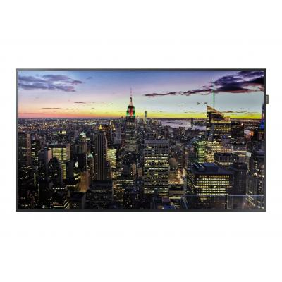 "Samsung public display: Professional Display QMF Serie 75"" - Zwart"