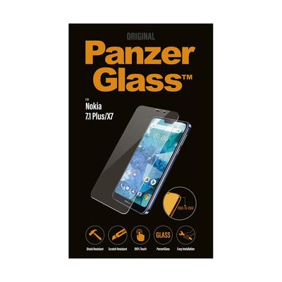 PanzerGlass Nokia 8.1/X7 Edge-to-Edge Screen protector - Transparant
