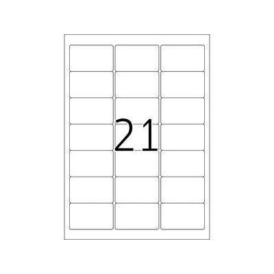 Herma etiket: Adress-etiketten wit Movables/verwijd. 63.5x38.1 A4 525 st.