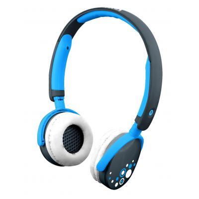 Kurio koptelefoon: Stereo headphones, Blue - Blauw