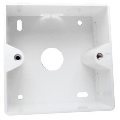 LogiLink Outlet Surface Mounting Box for Faceplates, Signal White Inbouweenheid - Wit