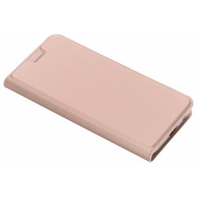 Slim Softcase Booktype Samsung Galaxy J6 - Rosé Goud / Rosé Gold Mobile phone case