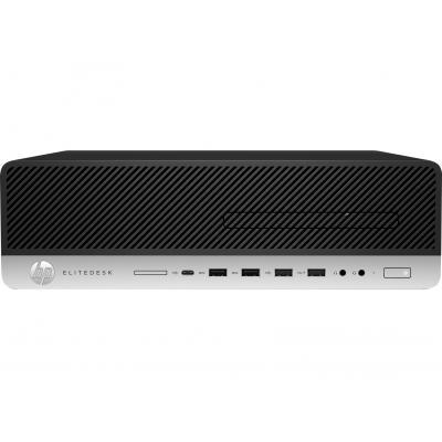 HP EliteDesk 800 G3 SFF i5 8GB RAM 256GB SSD (3 = 2 bundel) Pc - Zwart, Zilver