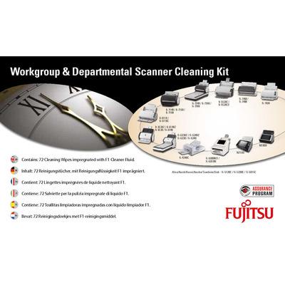 Fujitsu reinigingskit: Scannerreinigingssets voor werkgroepen/afdelingen - Multi kleuren