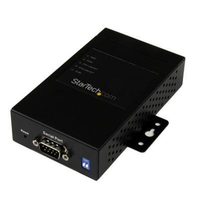 Startech.com seriele server: 1-poorts industriële RS-232 / 422 / 485 serieel naar IP Ethernet-apparaatserver 2 10/100 .....