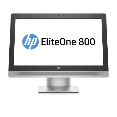 Hp all-in-one pc: EliteOne EliteOne 800 G2 23-inch (58,4-cm) All-in-One pc zonder touch (ENERGY STAR) - Zilver (Renew)