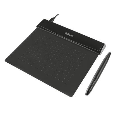 Trust Flex Design Graphic Tablet - black Tekentablet - Zwart