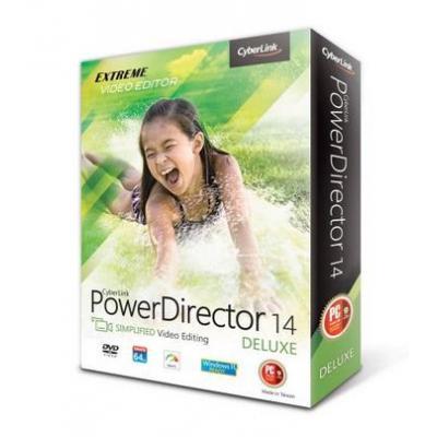 Cyberlink videosoftware: PowerDirector 14 Deluxe