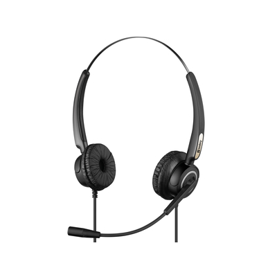 Sandberg USB Office Pro Stereo Headset - Zwart