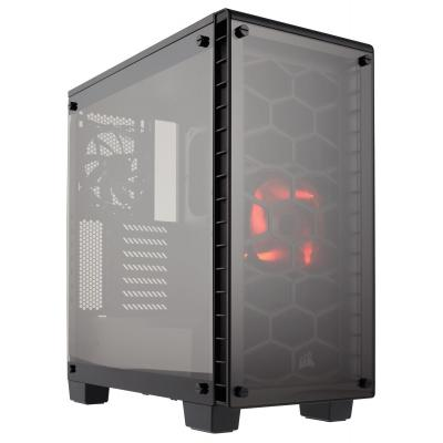 "Corsair behuizing: Carbide Mid-Tower, Mini-ITX, MicroATX, ATX, 5.25""x 0, 3.5"" x 2, 2.5""x 3, USB 3.0 - Zwart"
