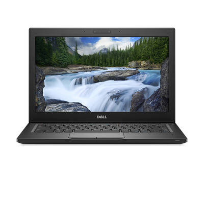 Dell laptop: Latitude 7290 - Zwart