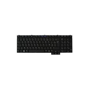 Samsung toetsenbord: Replacement keyboard for P710 / R710, NO - Zwart