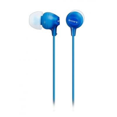Sony koptelefoon: MDR-EX15LP - Blauw