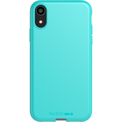 Antimicrobial Backcover iPhone Xr - Teal Me About It - Turquoise Mobile phone case